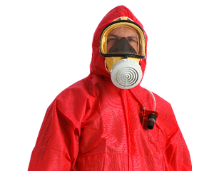 Asbestos operative in PPE