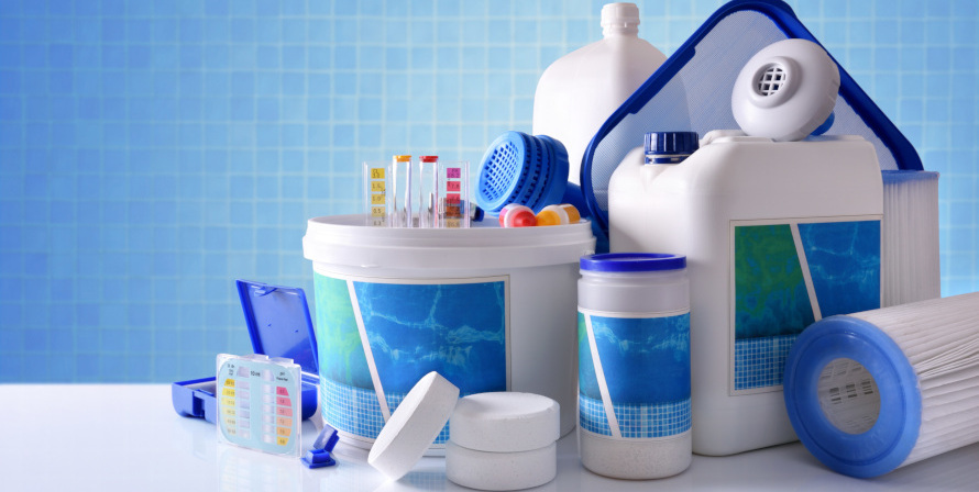 Legionella removal disinfection kit and testing strips