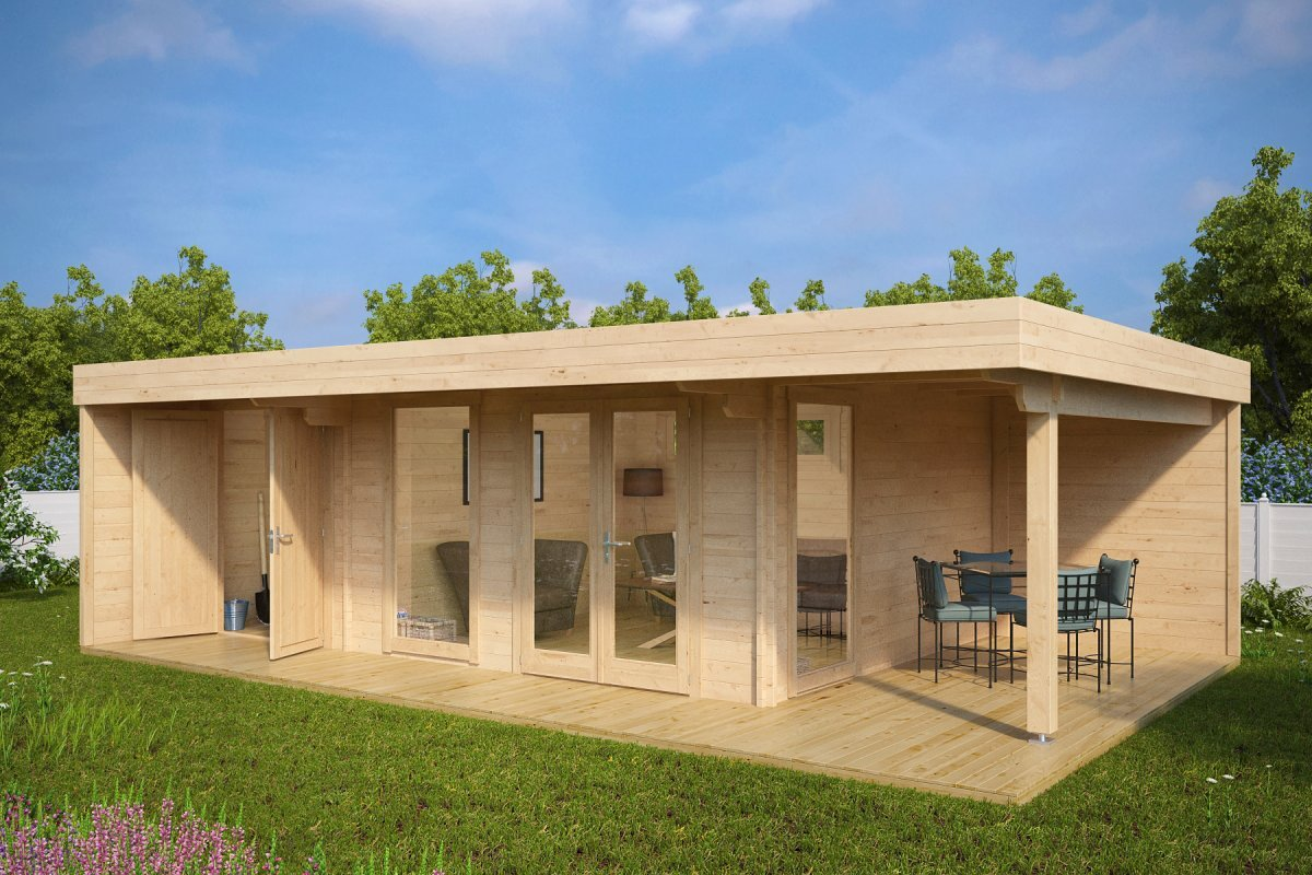 Summerhouse (D) 22 + Veranda