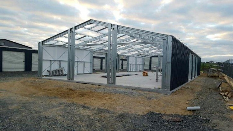 New Storage Sheds May 2016.