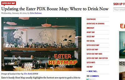 PDX EATER BOOZE MAP: Where To Drink Now