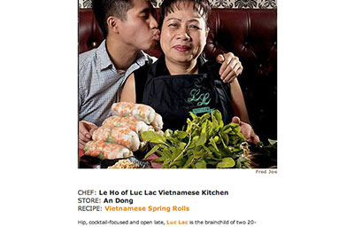 ASIAN COOKING: 5 CHEFS SHARE SHOPPING TIPS AND FAVORITE RECIPES