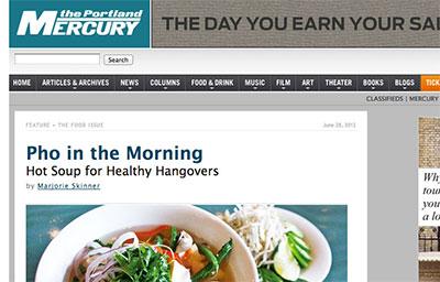 PORTLAND MERCURY: PHO IN THE MORNING