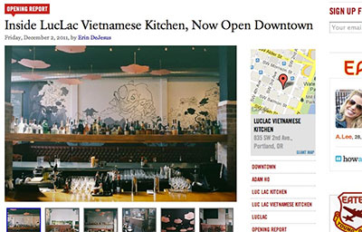 PDX EATER – INSIDE LUC LAC