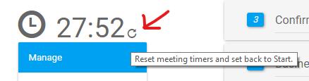 Reset Meeting