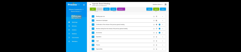Process PA Online Board Portal