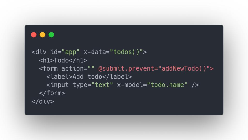 declaring alpine js component scope