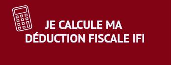Je calcule ma déduction fiscale IFI