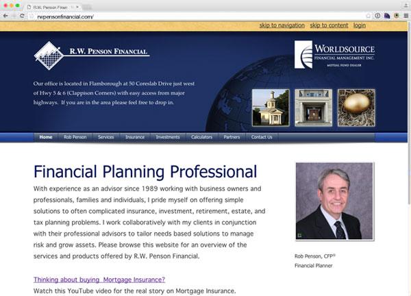 Portfolio item: R.W. Penson Financial