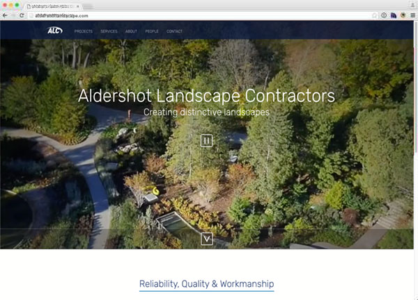 Portfolio item: Aldershot Landscape Contractors