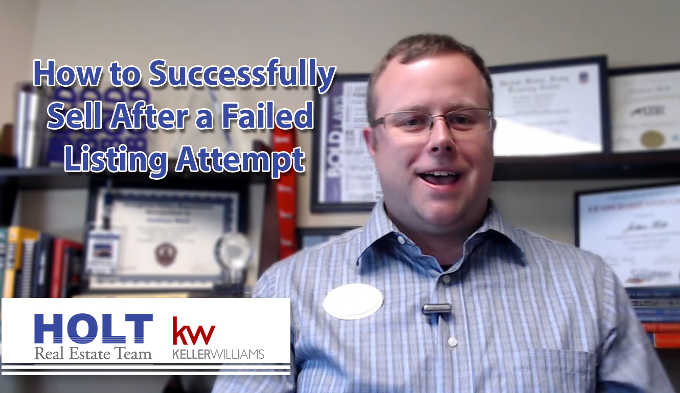 How to Successfully Sell After a Failed Listing Attempt