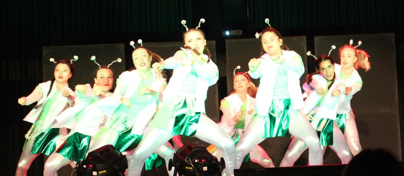 martian dancers