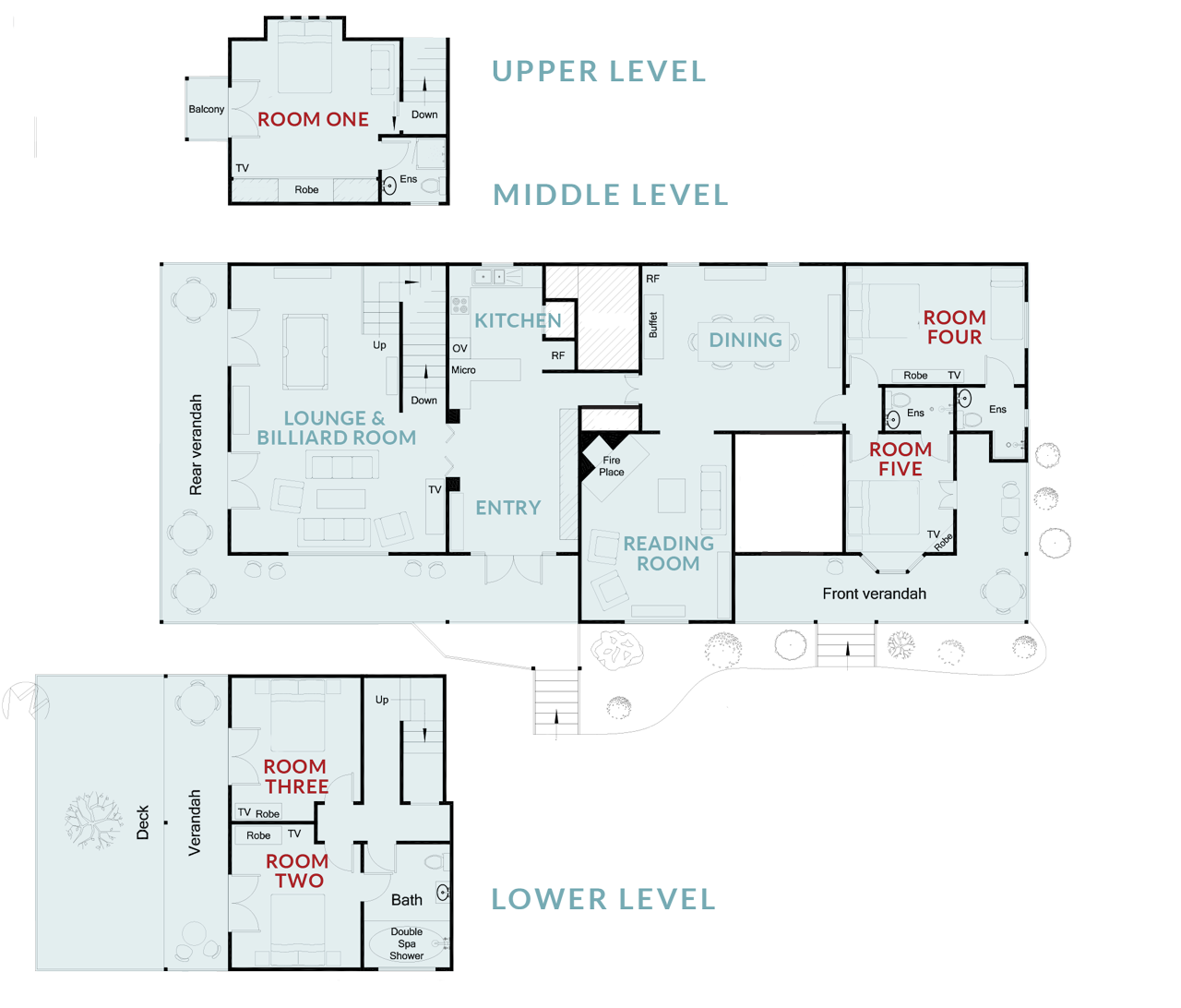 Floor Plan of 65Main