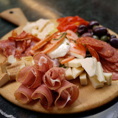Have an Antiplasto Platter waiting for you
