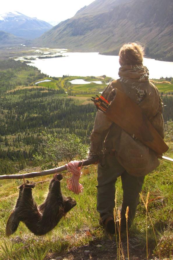 Kim Alaska Kanada Wildnis Fallensteller Trapper