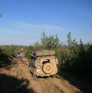Offroad über den Stampede Trail in Alaska