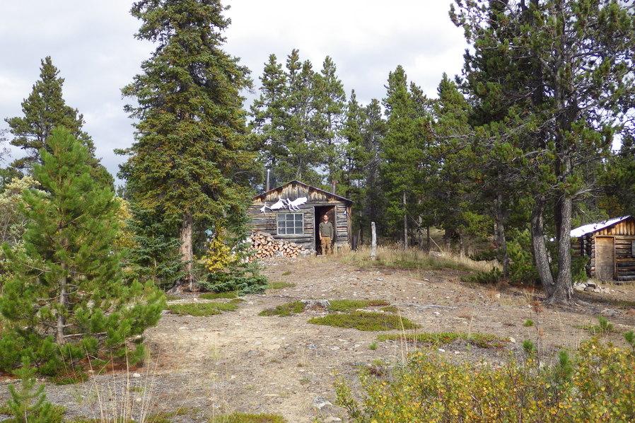Kim Alaska Kanada Wildnis Einsamheit Hütte Cabin