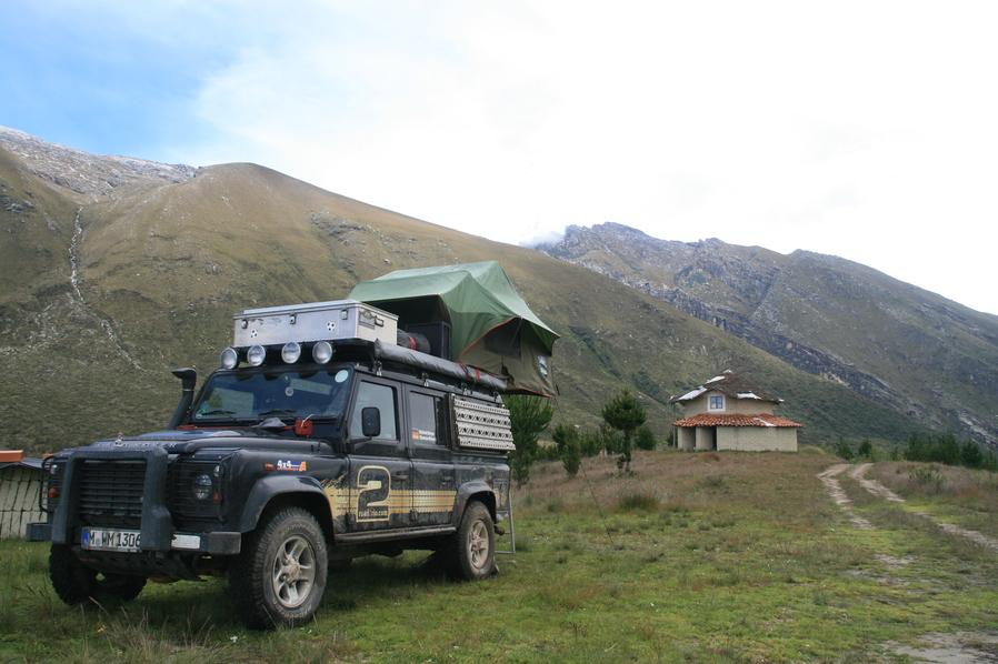 Mit dem Geländewagen durch die Anden in Peru