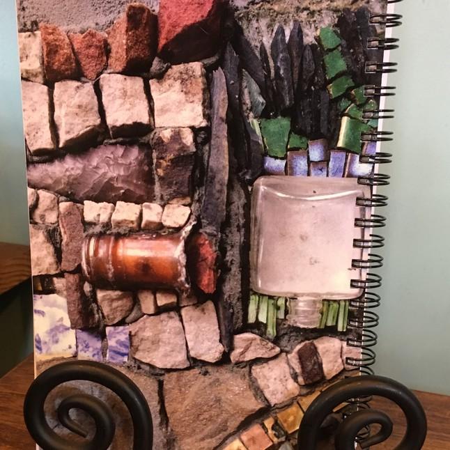 Photo of Sager Mosaics notebook