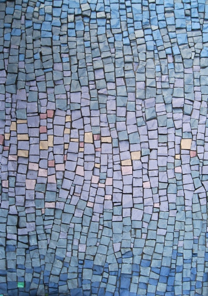 """""""Rustication as Religion"""" (detail) Private Collection of Ashley Judd"""