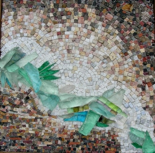 """""""Canadienne"""" mosaic by Rachel Sager"""