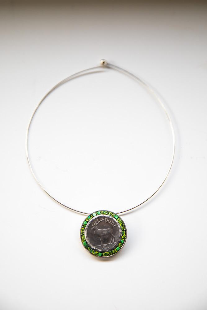 Photo of Irish Stag Coin Pendant