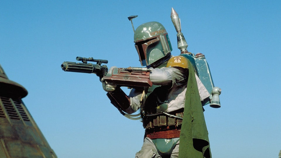 Bounty Hunter and Star Wars character, Boba Fett
