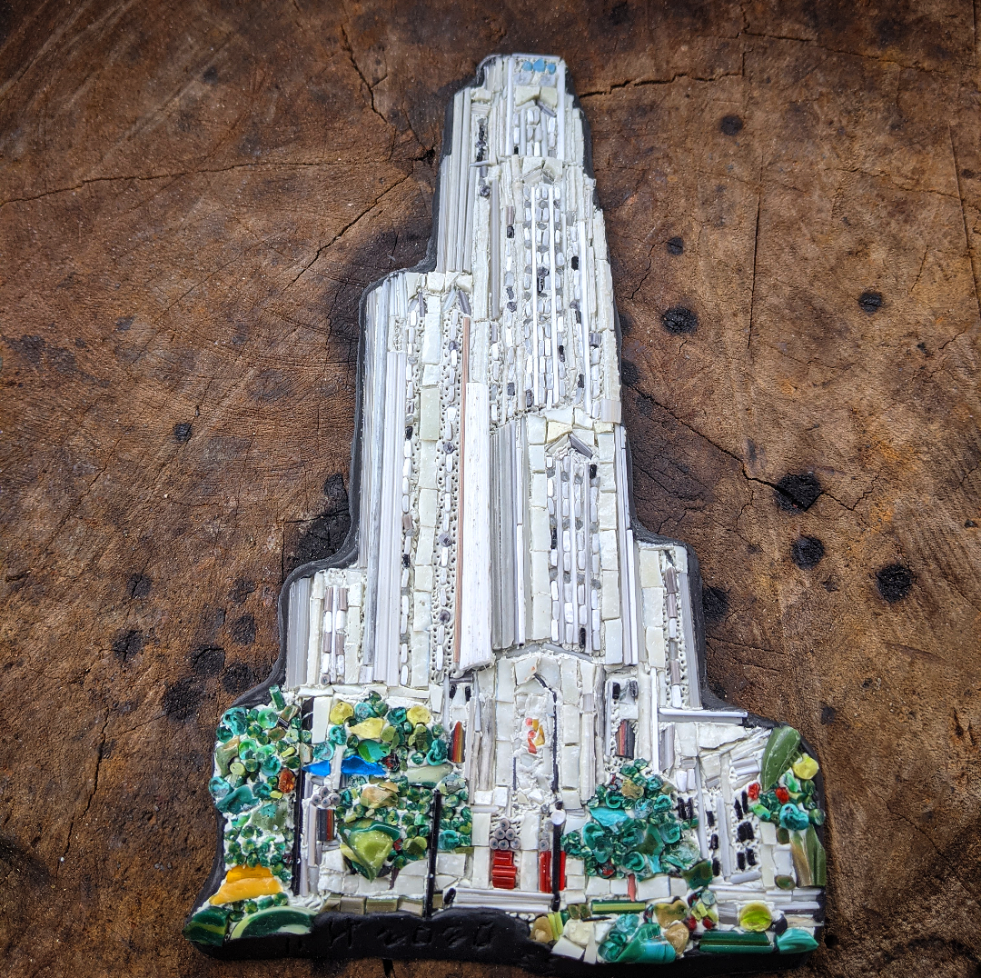 Cathedral of Learning by Helga Maribel Sanchez part of The Landmark Project