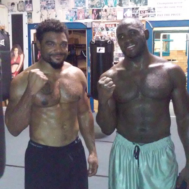 Boxing training forms respect