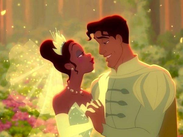 Disney fairy tale couple