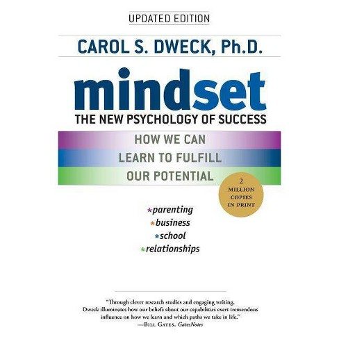 Mindset book for changing to growth mindset