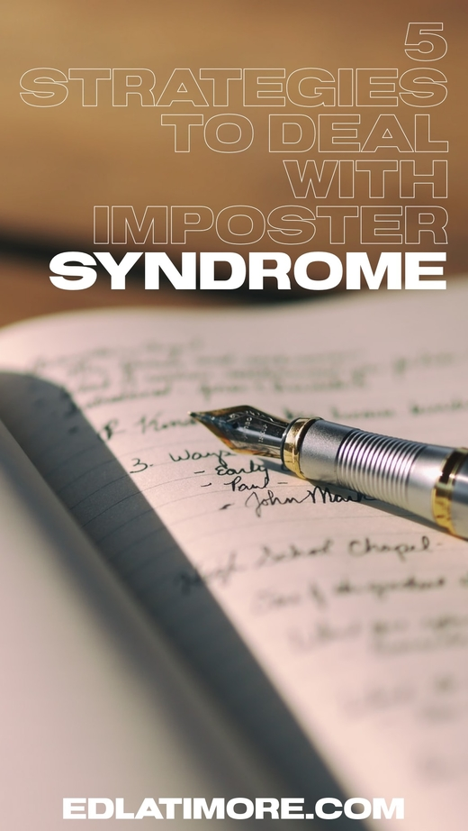 Dealing with imposter syndrome