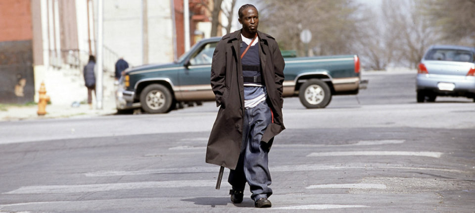 """Omar Little from""""The Wire"""" robbing drug dealers"""