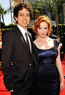 Photo of Christina Hendricks and Geoffrey Arend together