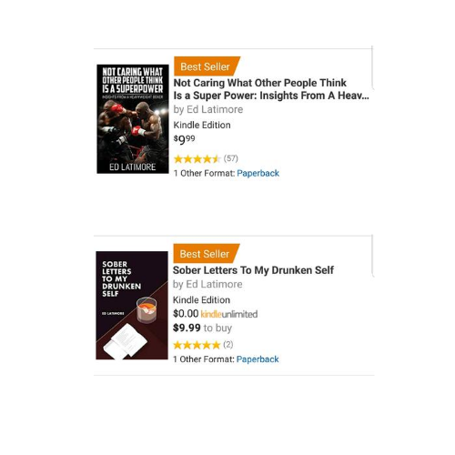 Ed Latimore Amazon Best-Sellers