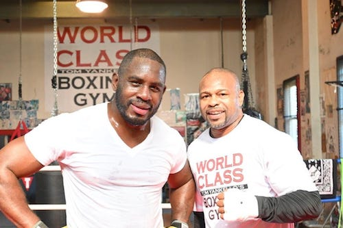 Boxing with Roy Jones Jr.