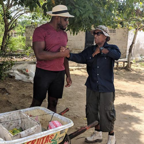 Making connections and conversation in Colombia
