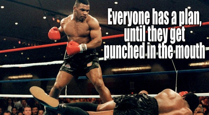 Mike Tyson knockout quote