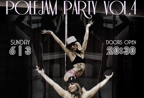 polejam party poster