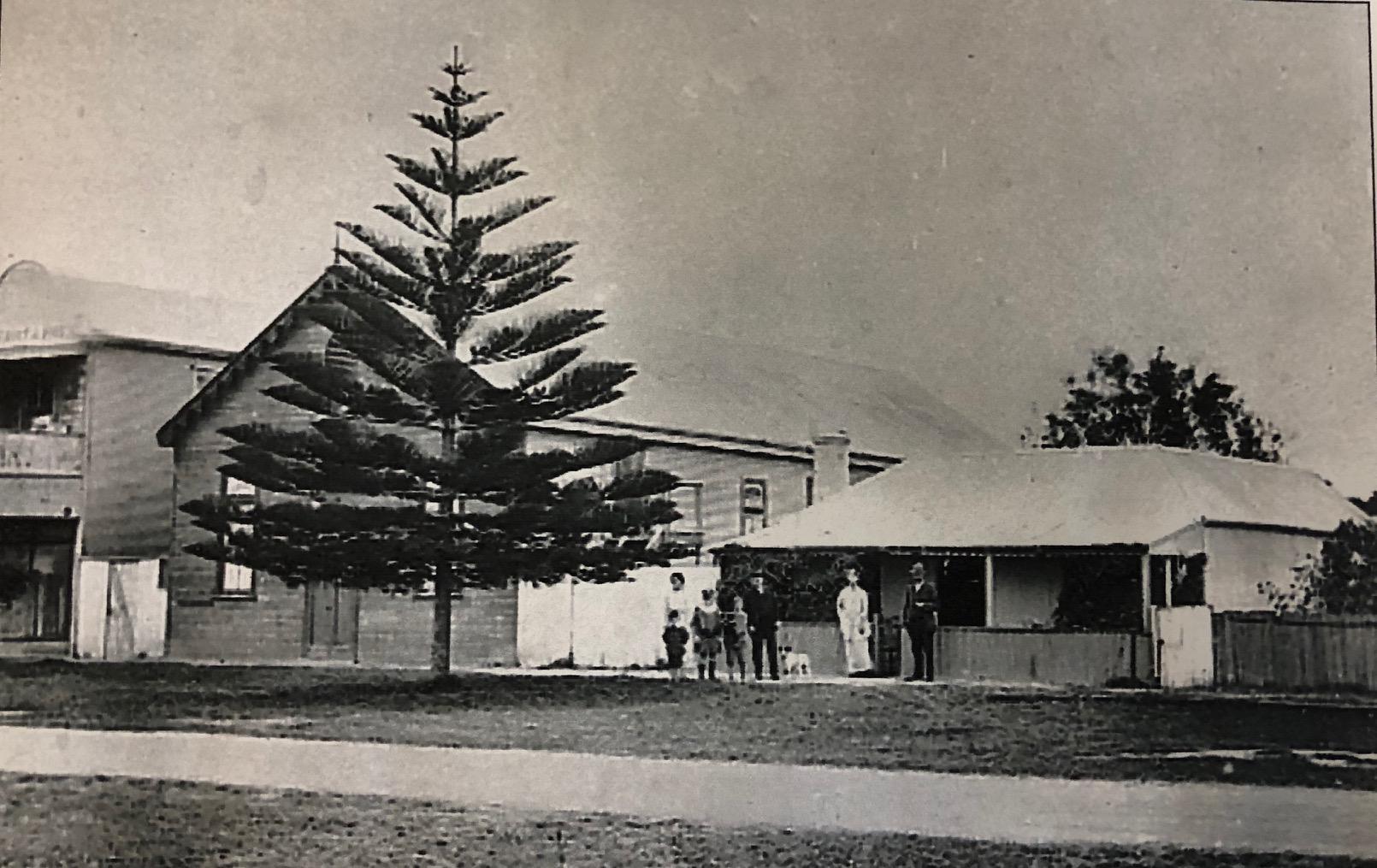 Old photo of the Bijou Theatre