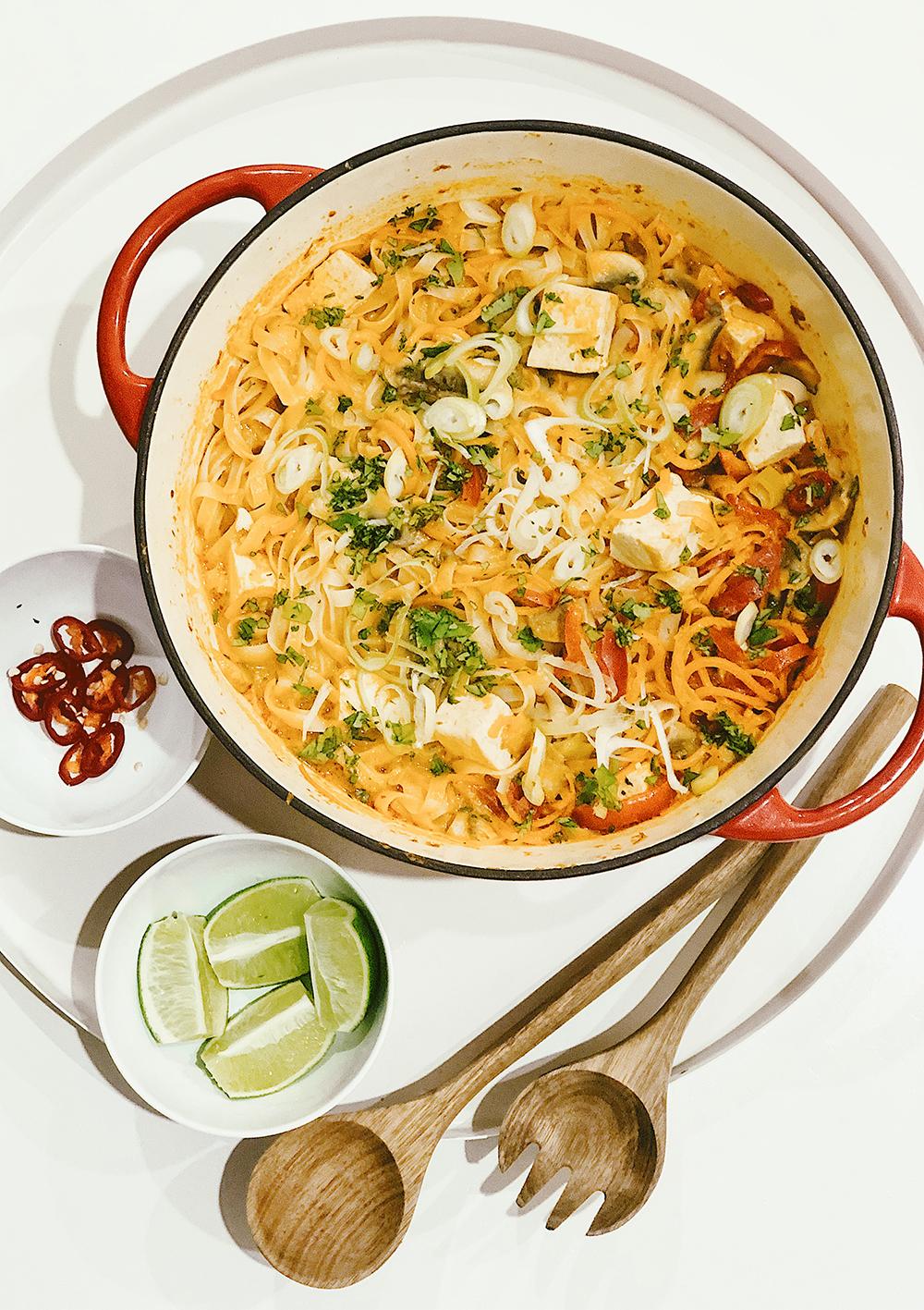 One-Pot Thai Veggie Noodles