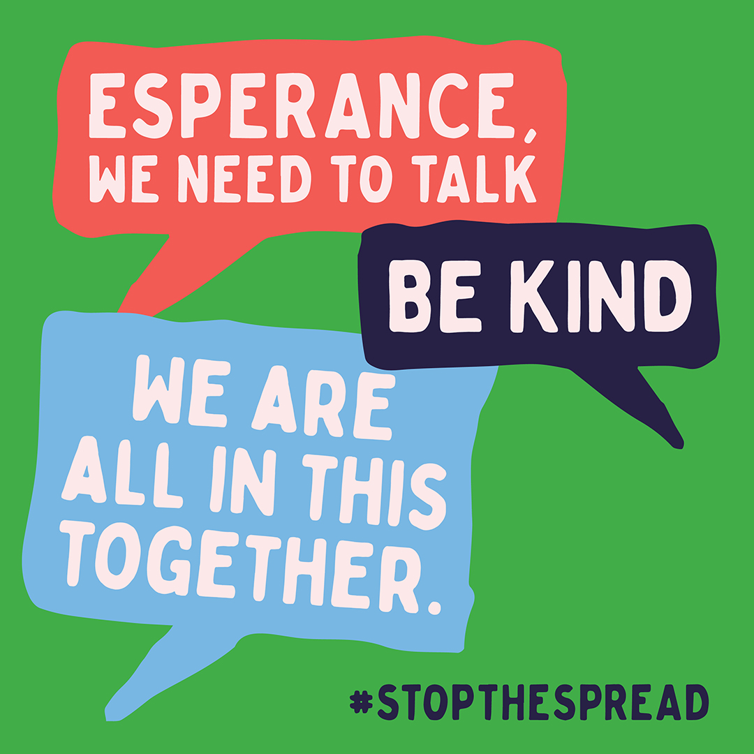 Be kind. We are all in this together.