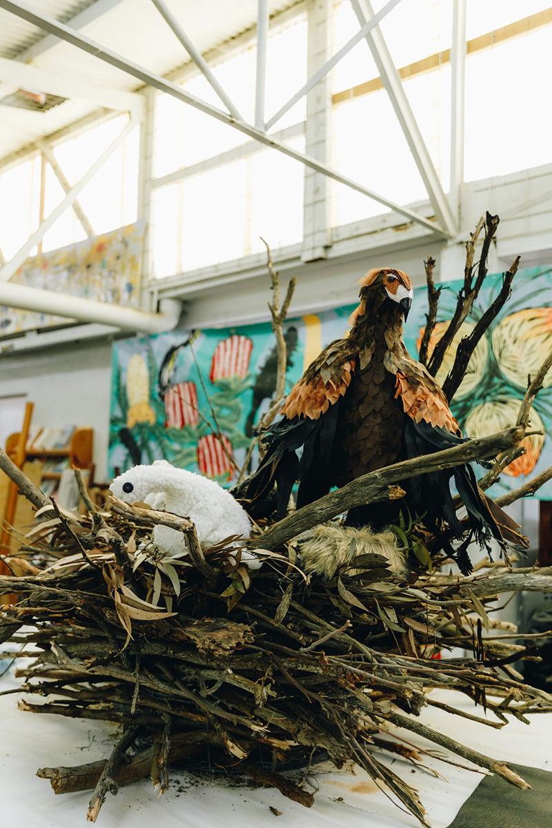 Esperance Wildflower Festival Sculpture
