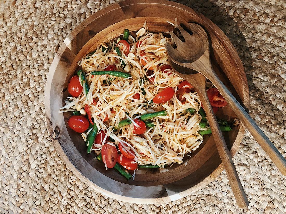 Tide Kitchen: Thai Green Papaya Salad