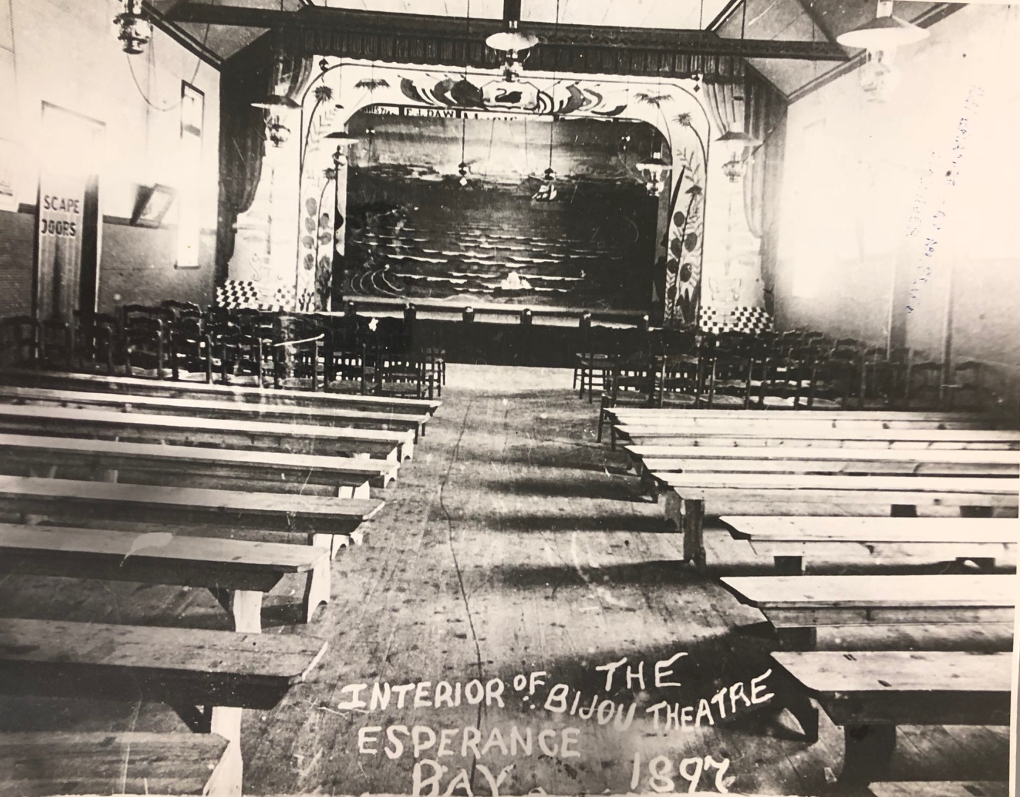 Bijou Theatre Interior 1872
