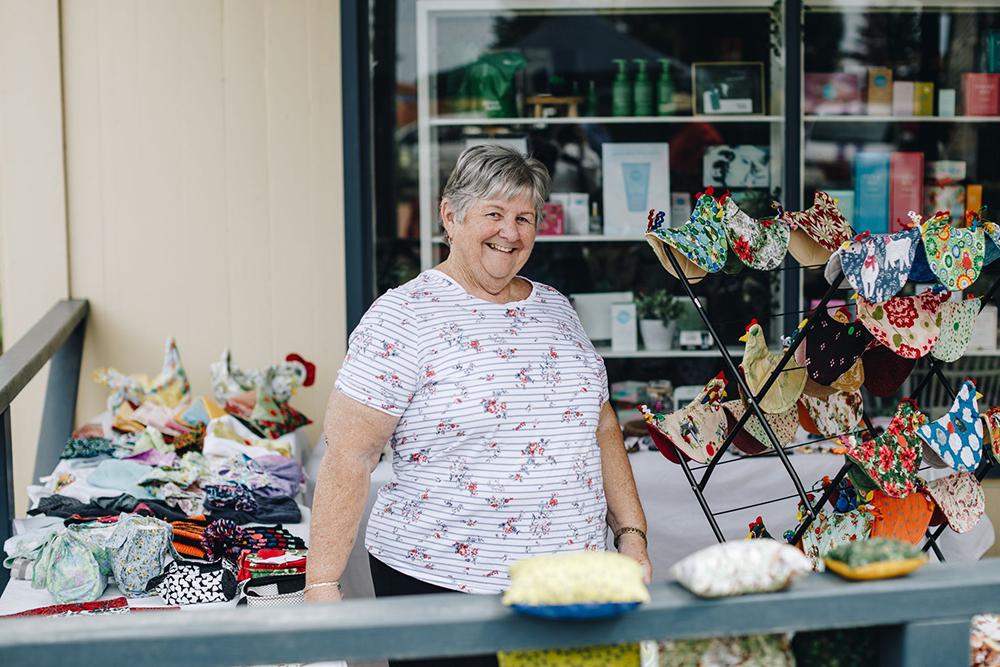 Margaret Horton at Esperance Museum Village Markets
