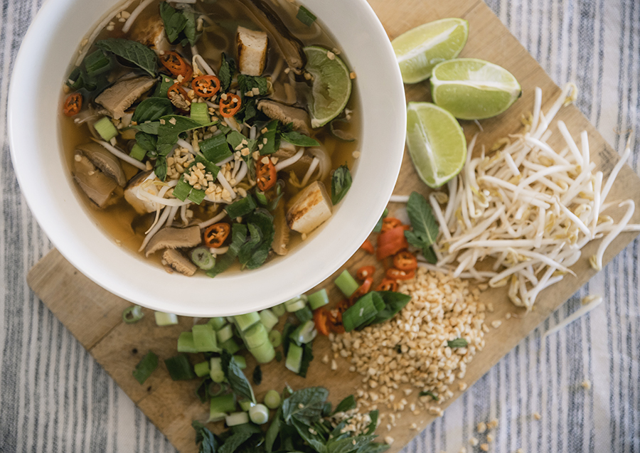 You And Me Pho'ever: Vegetarian Pho