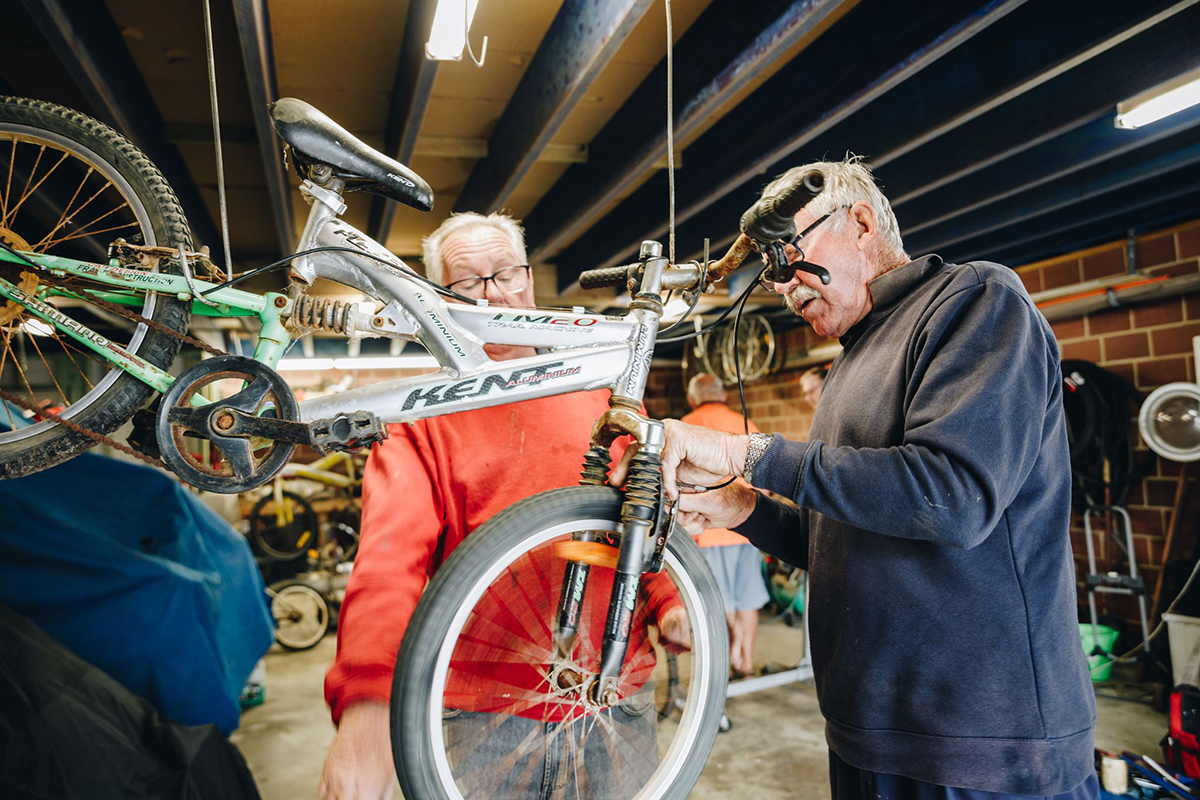 Bicycles for Humanity project in Esperance