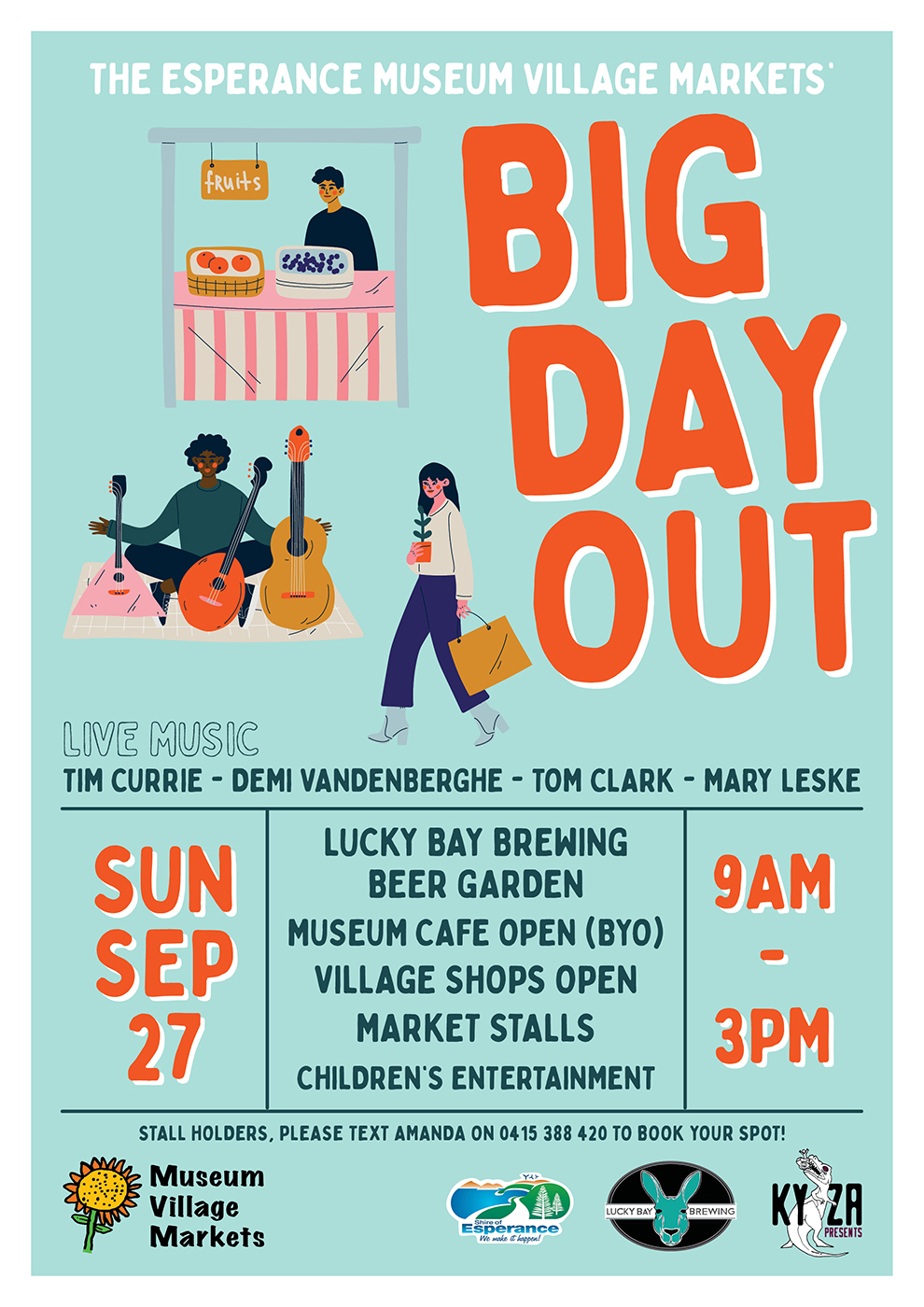 Museum Village Markets Big Day Out Sept 2020