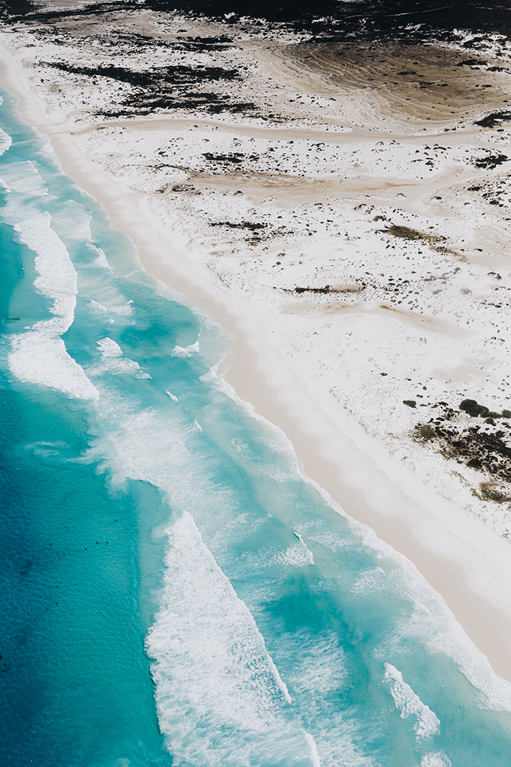 Esperance's best beaches via HeliSpirit's helicopter